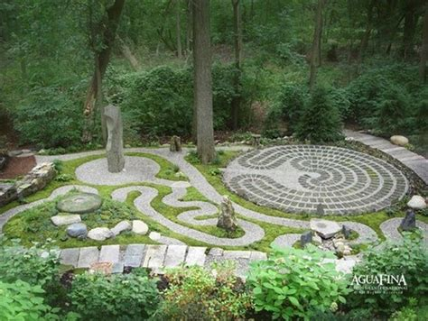 Backyard Labyrinth by Labyrinth Ish Aguafina Gardens International