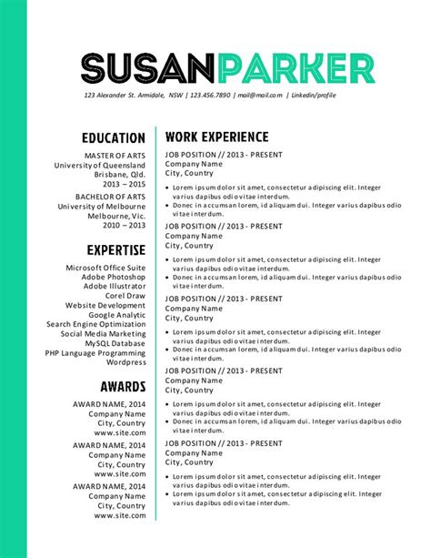 bold resume template bold green modern resume template modern modern resume