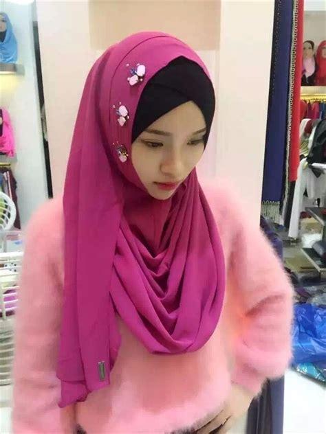 Pashmina Instant Athalia Best Quality best quality islamic chiffon tudung borong scarf instant shawls buy instant