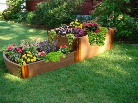 raised flower garden ideas how to build a raised garden bed clever landscaping ideas