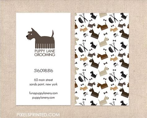 free business cards templates canine grooming business cards best 25 grooming business