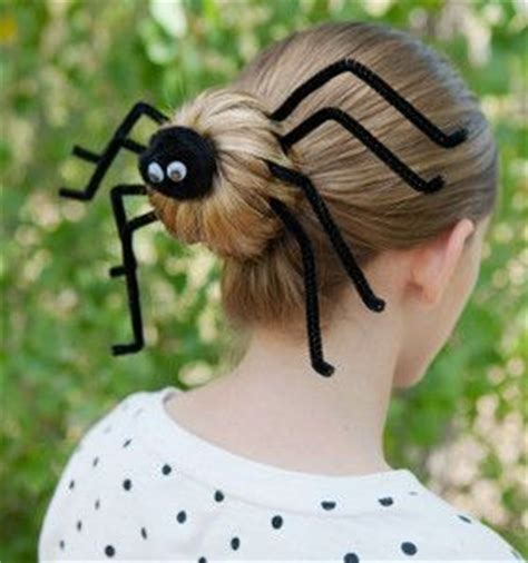 epic spider bun hairstyle with spiderweb included 173 best images about crafts on