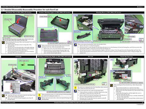 Spare Part Epson L210 epson l110 111 l210 211 l300 301 350 351 l355 356 service