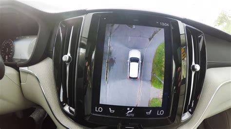 volvo xc interior  degree camera review youtube