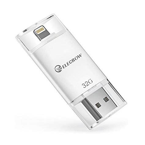 iphone external storage elecrow 32gb iphone usb flash drive external storage memory import it all