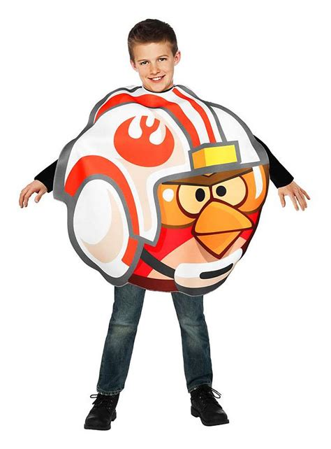 fancy dress costume adult gaming cartoon angry birds red med 38 40 angry birds luke skywalker kids costume