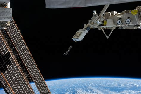 satellite room more radio cubesats released into orbit from iss launched from japan