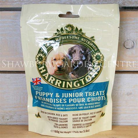 treats for puppies 8 weeks harringtons puppy junior treats 160g
