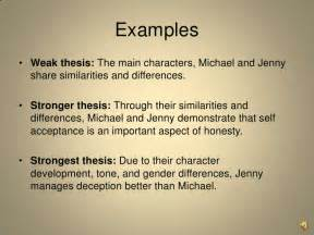 Thesis Exles For Compare And Contrast Essay by Compare And Contrast Analysis Writing