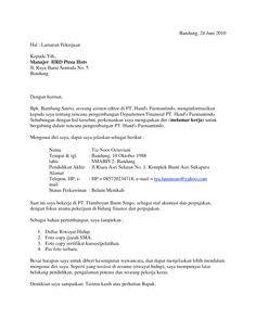 Surat Lamaran Ke Kejaksaan Agung by Surat Lamaran Kerja Jadi Perawat Ben Contoh