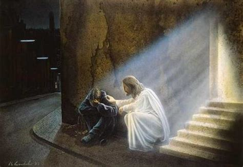 jesus comforts charity do you want to comfort jesus