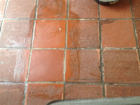 Waxing Tile Ceramic Floor by Expert Wax Removal Specialist Of All Antique Pavers