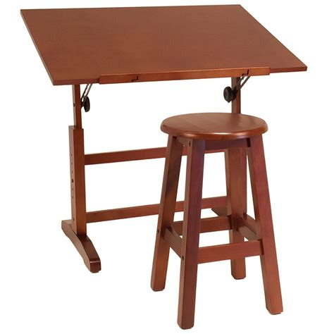 Drafting Table And Stool by Creative Drawing Table And Stool Set In Drafting Tables
