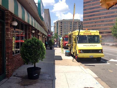 boston design center food truck schedule arlington restaurants push back against food trucks