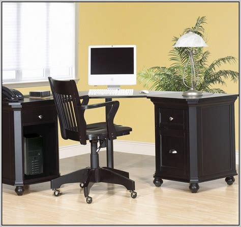 Corner Black Computer Desk Black Corner Computer Desk Uk Page Home Design Ideas Galleries Home Design Ideas Guide