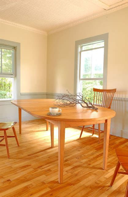 shaker dining room vermont made shaker custom dining table