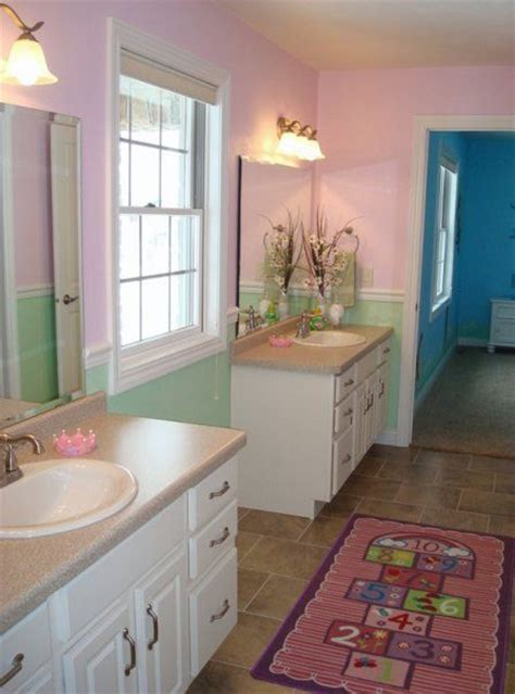 jack n jill bathroom ideas 17 best images about jack jill bathrooms on pinterest