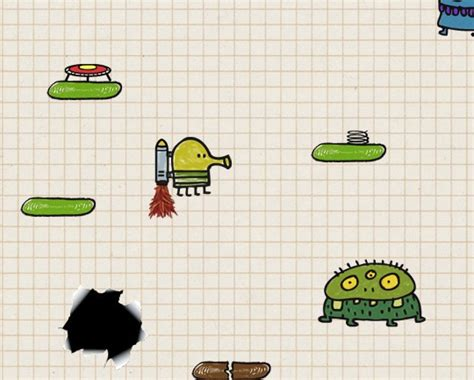 doodle jump to play 5 that are awesome to play on a large android screen