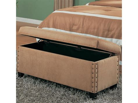 bed end storage bench end of bed storage bench homesfeed