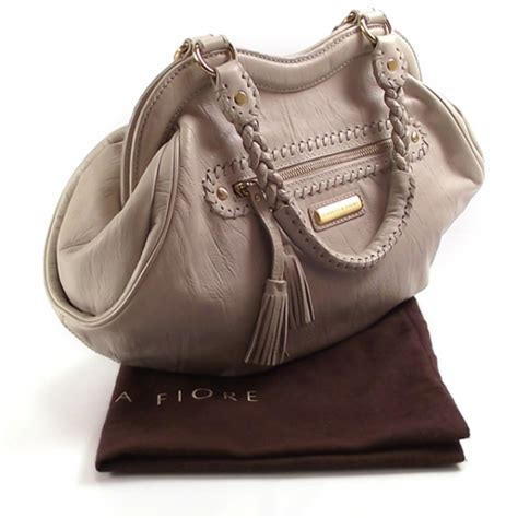 Fiore Bloom Handbag by Fiore Leather Heirloom Bloom 11430
