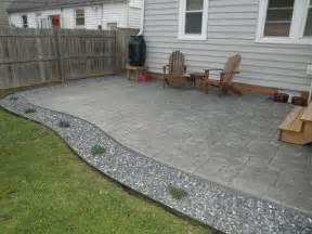 Poured Concrete Patio Designs Looking Poured Concrete Patio Design Ideas Patio Design 294