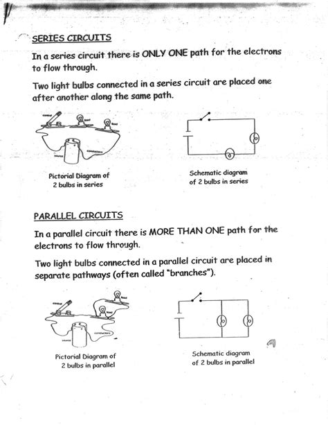 parallel circuits ks3 worksheet 12 best images of series parallel circuit worksheet series and parallel circuits worksheets