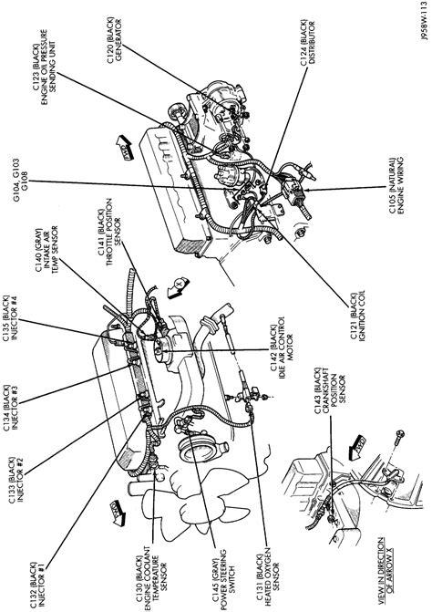 jeep tj engine wiring diagrams wiring diagrams