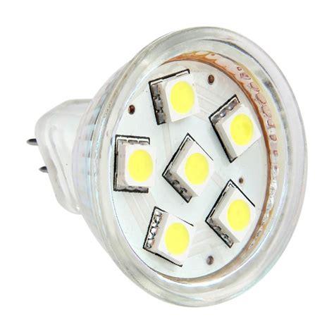 12v dc led light ac dc 12v 24v 1 5w 6x 5050 led light bulb mr11 gu4 bi pin