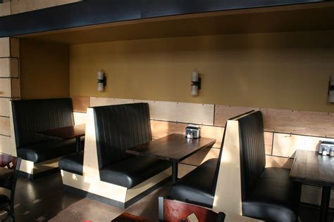 restaurant bench seating starky s restaurant seating