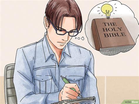 Buku Bible Question Answers 4 formas de estudiar la biblia wikihow