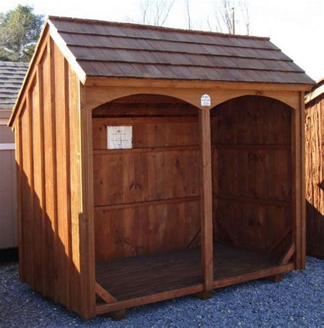 diy backyard sheds firewood storage shed to keep and organize your firewood