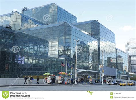 convention new york city javits convention center in manhattan editorial image image 35344245