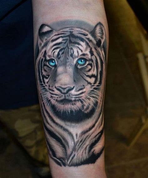tiger forearm tattoo 25 best ideas about white tiger on