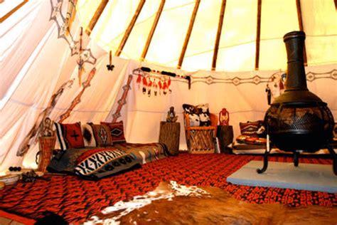 Teepee Interior by Tipi Interiors Nomadics Tipi Makers