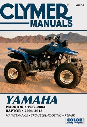 2004 2013 Yamaha Yfm350s Raptor Amp 1987 2004 Yfm350x