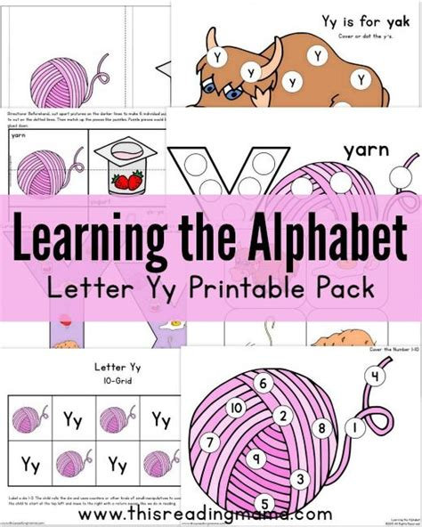printable letter y book 20 best y is for images on pinterest learning