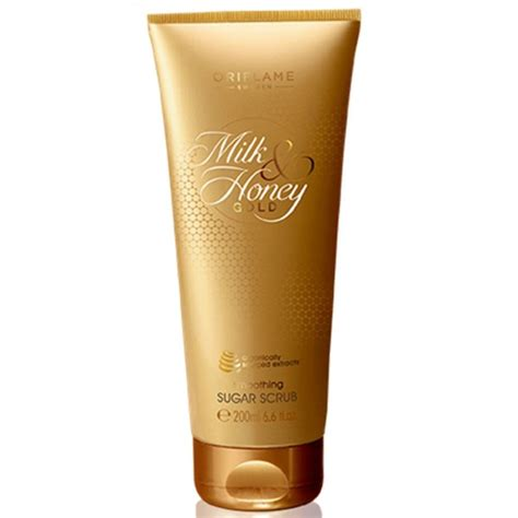 Scrub Oriflame oriflame sweden milk and honey gold smoothing sugar scrub