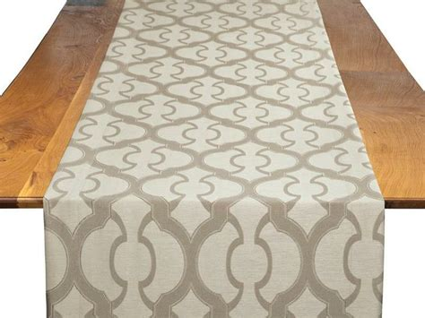 bbjlinen com taupe miramar table runner bbj linen tablescape