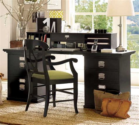 great rectangular workspace desk set home office furniture