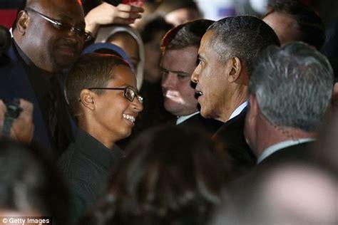 obama cool clock ahmed mohamed meets president barack obama at white house