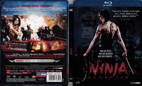 film de ninja assassin jaquette dvd de ninja assassin blu ray cin 233 ma passion