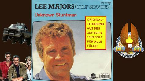 x themes songs from the unknown the fall guy theme song lee majors unknown stuntman