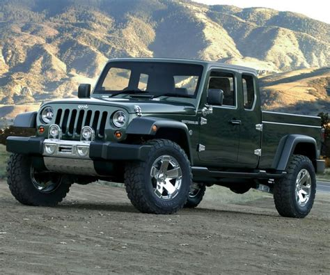 new jeep truck will we see a diesel 2017 jeep scrambler