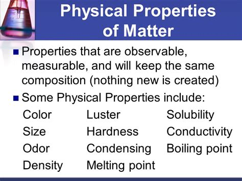what are properties of matter 7th grade science 2017