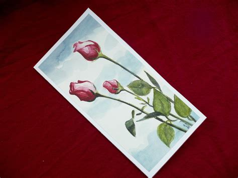 how to make watercolor greeting cards watercolor painting painted greeting card by artdora