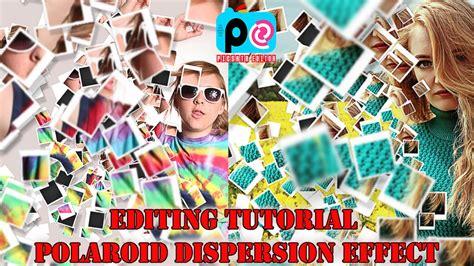 tutorial aplikasi picsart tutorial cara edit effect polaroid dispersion dengan