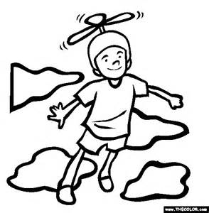 Flying Coloring Pages free coloring pages thecolor