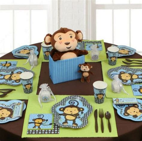 Monkey Baby Shower Centerpieces by Monkey Themed Baby Shower Centerpieces Baby Shower