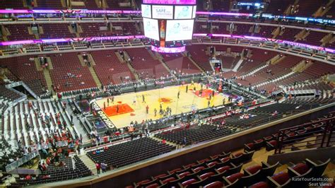 section 303 united center united center section 303 chicago bulls rateyourseats com