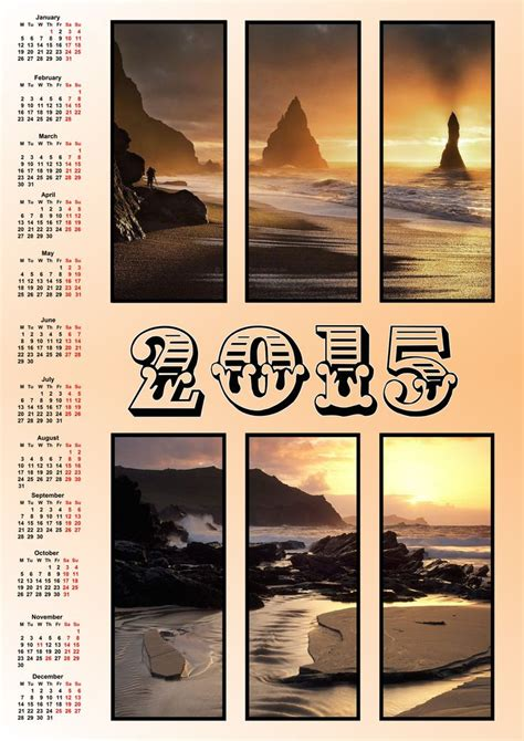 make your own wall calendar with photos 12 best wall calendars 2015 images on photo